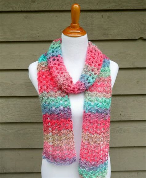 island lace crochet scarf allfreecrochetcom