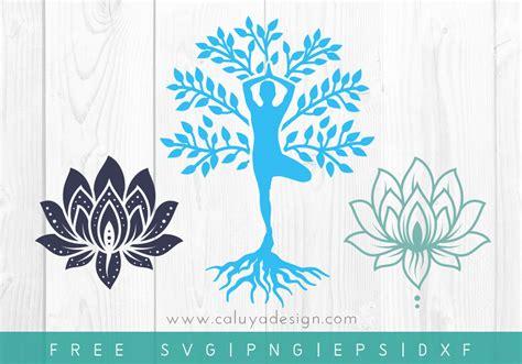 Icônes de yoga gratuites dans des styles variés pour vos projets web, mobiles et de design graphique. Free Yoga SVG, PNG, EPS & DXF by Caluya Design