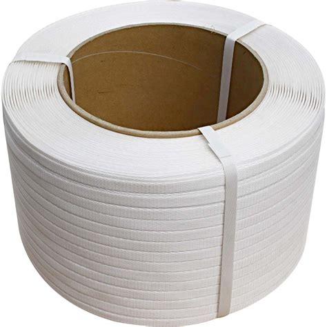 mm   white polypropylene strapping  gauge