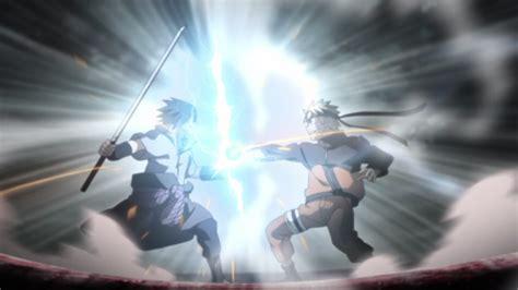 naruto  sasuke rasengan  chidori daily anime art