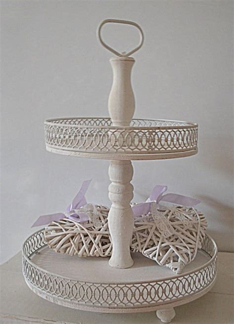 Etagere Shabby Xl Etagere Vintage Im Shabby Chic Eckig Holz Weiss Bei