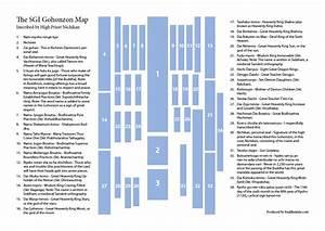 The Nichikan Sgi Gohonzon Map