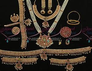 Set Online Shop : d9755 south indian classical dance kemp jewellery set shop online ~ Orissabook.com Haus und Dekorationen