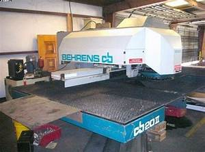 Manual Behrens Turret Punch Press