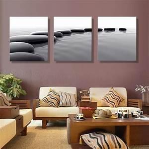 Toile Deco Salon : art cailloux d finition photos impressions sur toile d coration salon mur photo peinture ~ Teatrodelosmanantiales.com Idées de Décoration