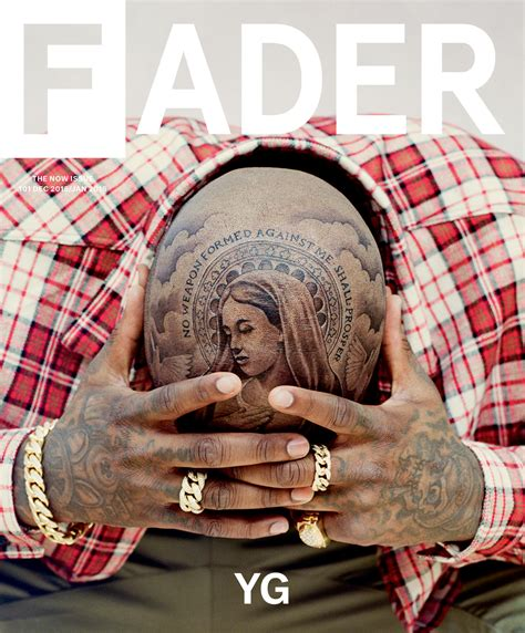 Yg Covers The Fader Hiphopnmore