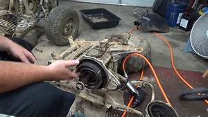 1987 Honda Fourtrax 250 Rear Brakes Differential And A Rant