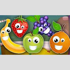 Five Little Fruits  Learn Fruits  Fruits Song  Kids Songs  Nursery Rhymes Kids Tv Youtube