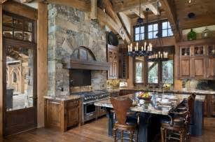 gourmet kitchen islands top 10 beautiful rustic kitchen interiors for a warm