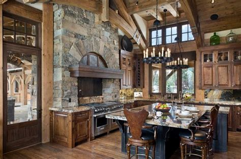 Top Beautiful Rustic Kitchen Interiors For A Warm