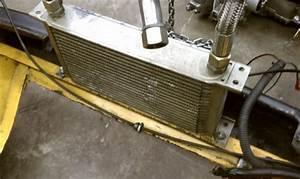 Custom Oil Cooler Installation