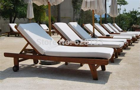 odlb021 outdoor wood chair leisure lying bed the