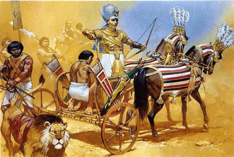 cultura siege social pharaoh ramses ii in his chariot the lost