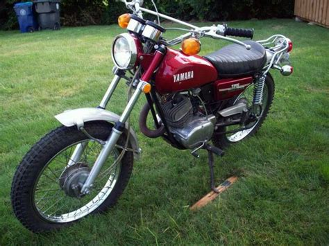 1972 Yamaha Ct2 175 Enduro Motorcycle