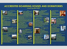 Accredited Boarding Houses and Dormitories Ateneo de