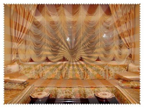 Rideau Pour Salon Marocain by Rideaux Et Cache Rideaux Salon Du Maroc