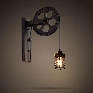 Lampe Murale Industrielle : applique murale industrielle ~ Teatrodelosmanantiales.com Idées de Décoration