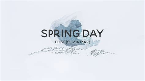 (acoustic English Cover) Bts  Spring Day (봄날) Elise