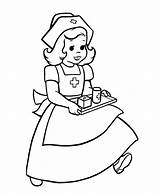 Coloring Doctor Nurse Cartoon Nurses Printable Drawing Children Bordado Sheets Popular Books Alphabet sketch template