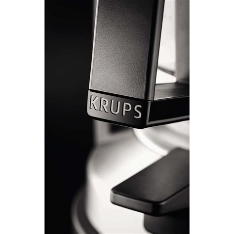 Krups T8 2 by Krups T8 2 Km 4689 Coffee Machine Black