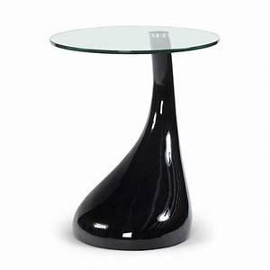 Table Basse Noire Design : table d 39 appoint design music noire ~ Carolinahurricanesstore.com Idées de Décoration