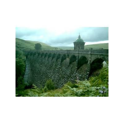 Ellan Valley Dam a photo from Powys WalesTrekEarth