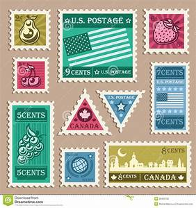 old stamp stickers stock vector image of postage world With free postage stickers