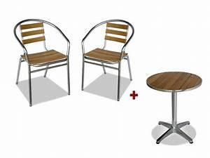 Ensemble Chaise Et Table : salle manger de jardin profitez du soleil avec nos ~ Dailycaller-alerts.com Idées de Décoration
