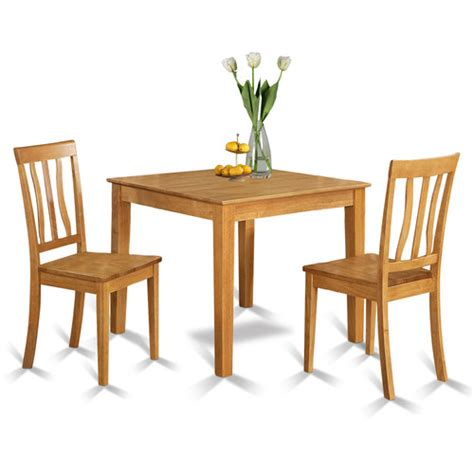 Wayfair Oak Kitchen Chairs by Oxford 3 Dining Set Wayfair