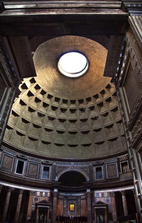 cupola pantheon roma pantheon altar cupola ceiling oculus rome italy royalty