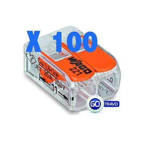 wago pour fil souple ou rigide x 100