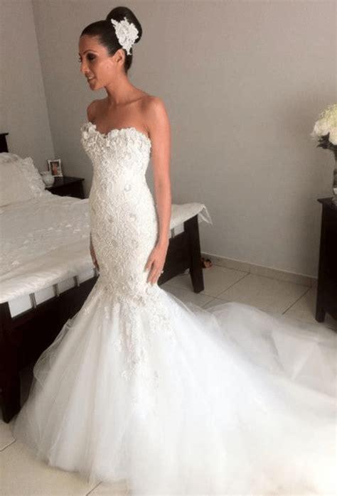 glamorous wedding dresses