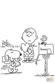 image result  charlie brown spring coloring pages valentines day coloring page valentine