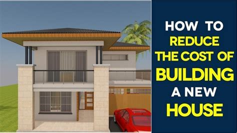 tips to building a house 5 tips to reduce home building costs home design ideas plans