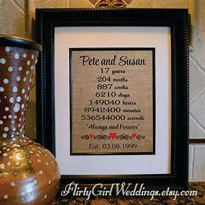 17th anniversary 17 17th 17th anniversary gift for wife With 17th wedding anniversary gifts