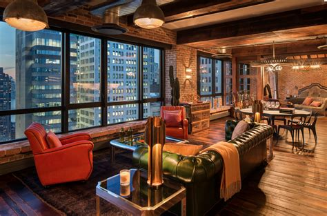 $12995 Million Rustic Penthouse In New York, Ny Homes