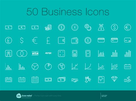 free 50 sketch business icons set sketch freebie