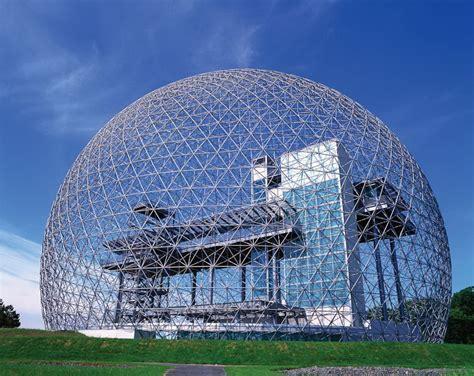Architettura Moderna Montreal Biosphère