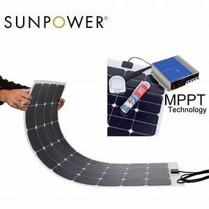 Régulateur Pour Panneau Solaire : panneau solaire souple 130w 12v r gulateur mppt camping car ~ Medecine-chirurgie-esthetiques.com Avis de Voitures