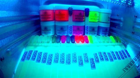 glam  glits glow collection acrylic glow   dark