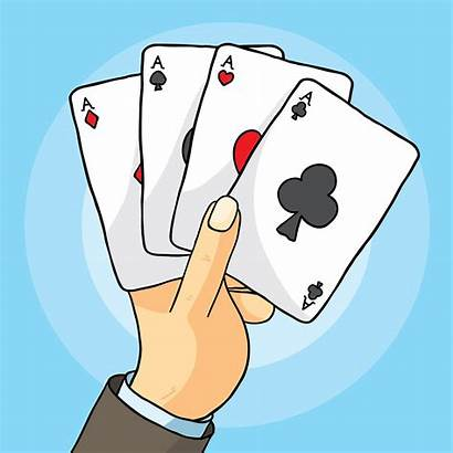 Playing Cards Hand Vector Card Graphics Deck