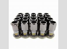 Project Kics R40 Black Chrome Lug Nuts – System Motorsports