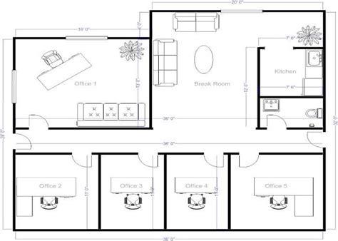 create a blueprint free 4 small offices floor plans small office layout floor plans offices pinterest floor