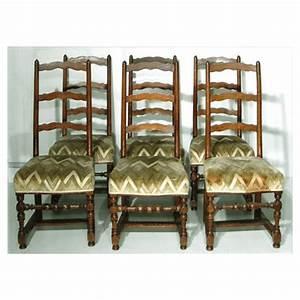 Chaise Louis Xiii : 6 chaises louis xiii antiquit s et art populaire le foyer ~ Melissatoandfro.com Idées de Décoration