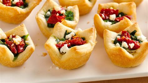 baked canapes 25 cheesy appetizers and dips