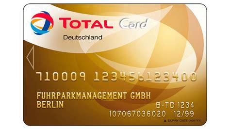 tankkartenuebersicht total card eurotransport