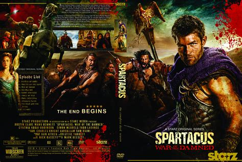 this is for the cover spartacus war of the damned 2013 ws r0 tv series
