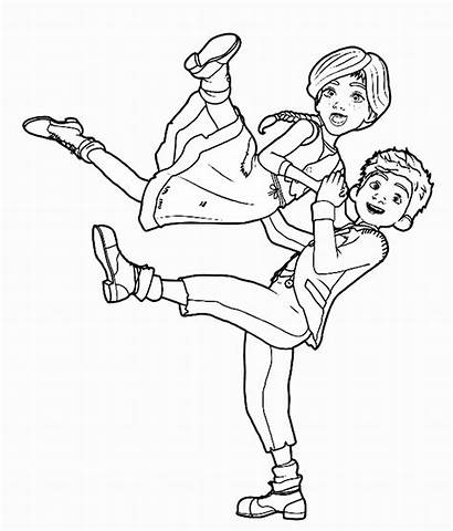 Leap Coloring Pages Ballerina Trailers