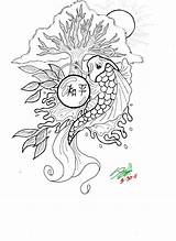 Koi Coloring Pages Fish Drawing Realistic Printable Coy Detailed Getcolorings Clipart Print Popular Pa Library Getdrawings Tattoo Insertion Codes sketch template