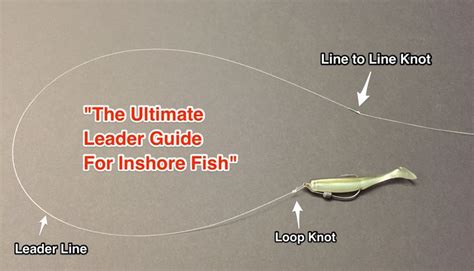 fishing knots leader strongest tie redfish saltstrong fish snook knot saltwater fly crappie guide seatrout